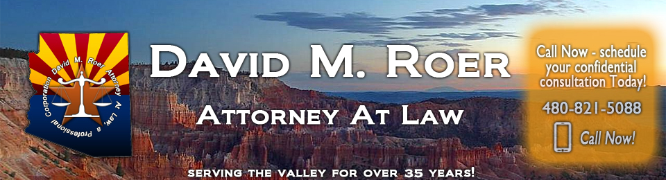 David M. Roer Attorney At Law